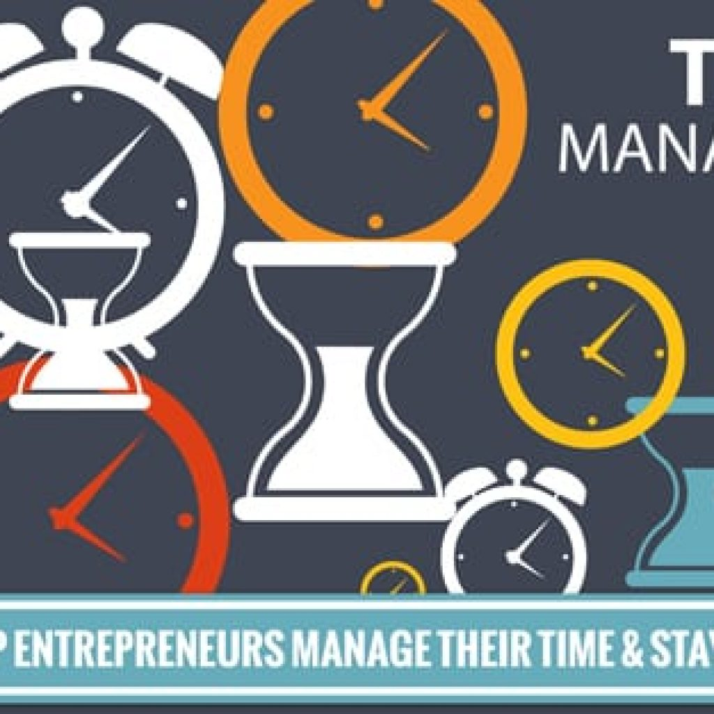6 Tips To Help Entrepreneurs Manage Their Time