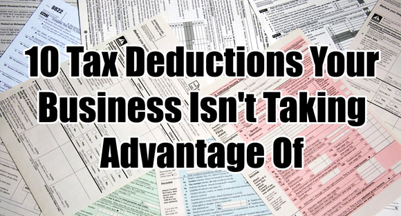10 Business Tax Deductions To Take Advantage Of - Fully Accountable