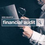 conducting financial audit