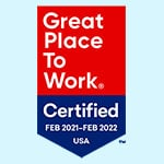 Great Place to Work 2021 - 2022 - Fully Accountable Awards